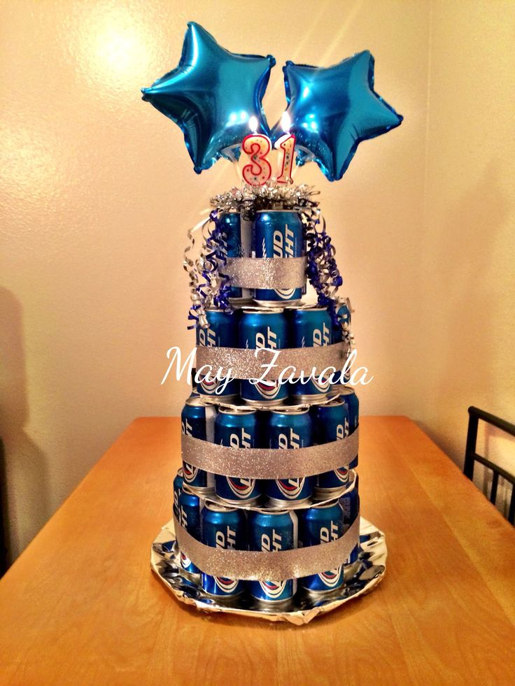 11 Beer Cakes Pictures And Ideas Photo Beer Can Birthday Cake