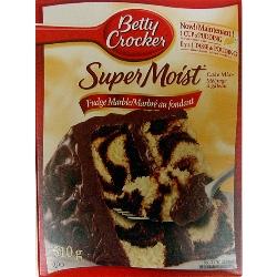 Betty Crocker Marble Cake Mix