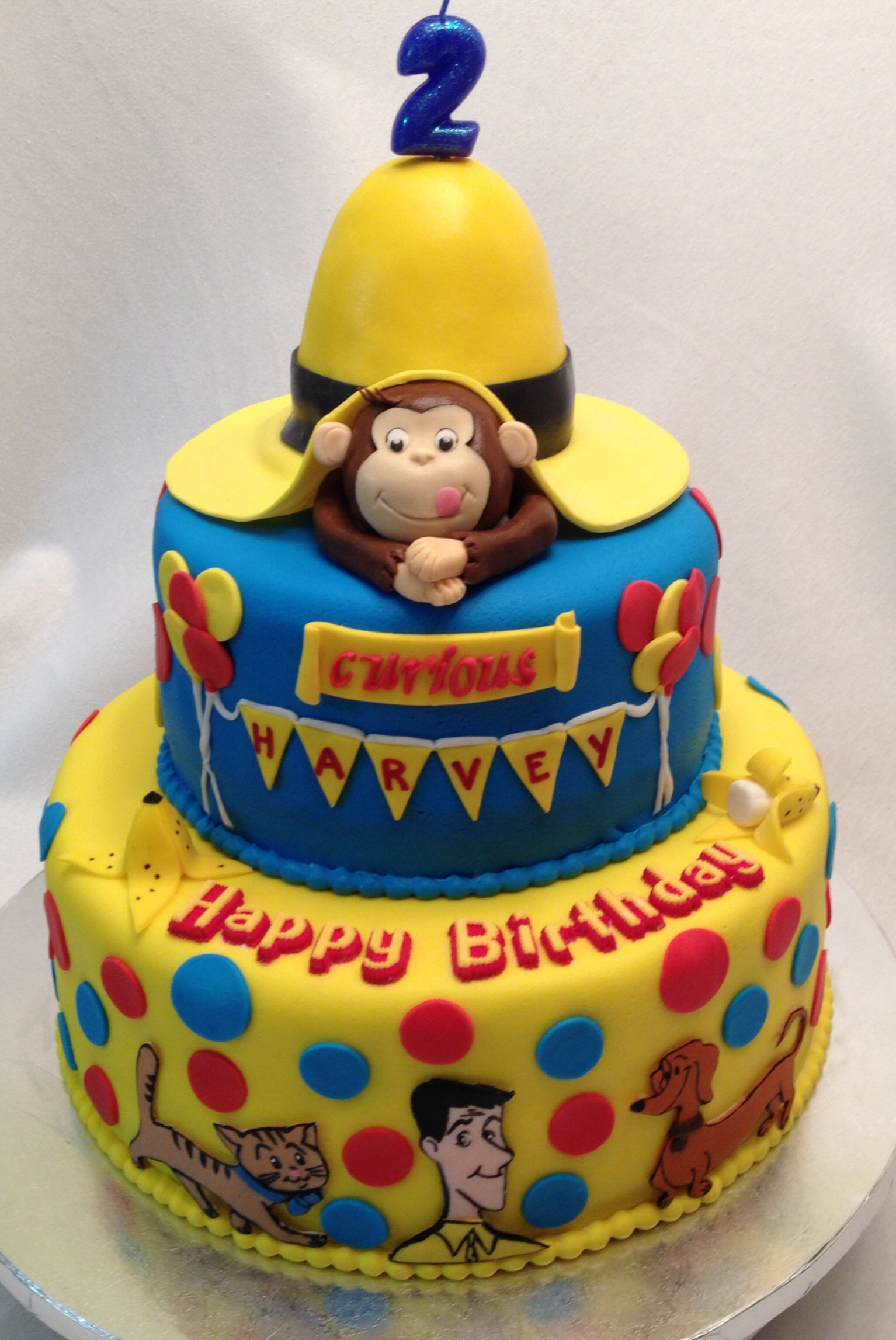 11 Curious George Cup Cakes Photo Curious George Cupcakes Curious