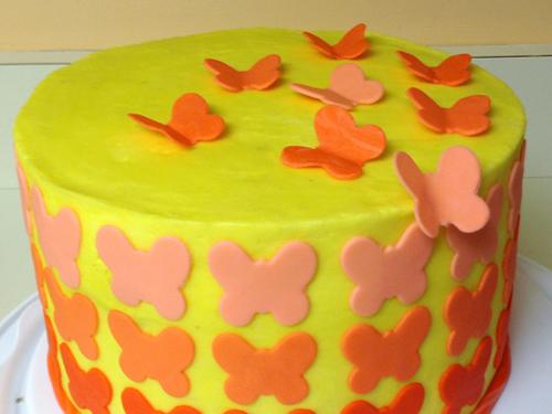 Easy Spring Cake Decorating Ideas
