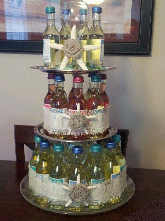 7 Birthday Cakes Wine Bottle Glass Photo Wine Bottle Cake