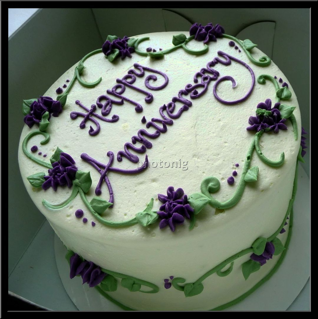 12 Happy Wedding Anniversary Cakes 18 Photo Happy Wedding