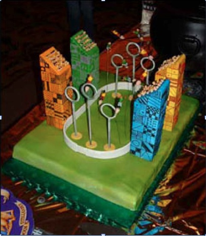 8 Complex Harry Potter Decorated Cakes Photo Harry Potter