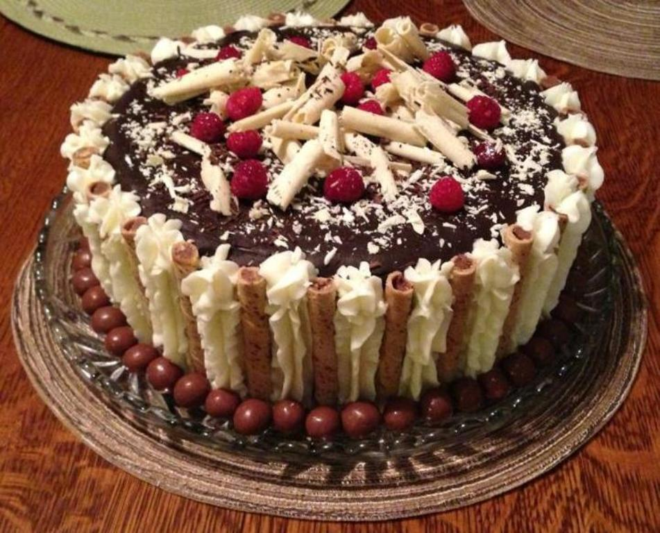 7 Homemade Birthday Cakes For Him Photo Homemade Birthday Cake