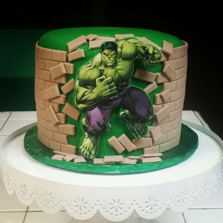 Pleasant 12 Best Incredible Hulk Cakes Photo Incredible Hulk Cake Hulk Funny Birthday Cards Online Elaedamsfinfo