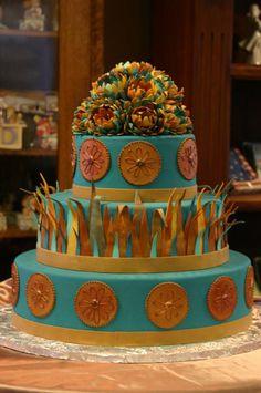 Cool 5 Southwestern Birthday Cakes Photo Happy Birthday Cake In Funny Birthday Cards Online Overcheapnameinfo