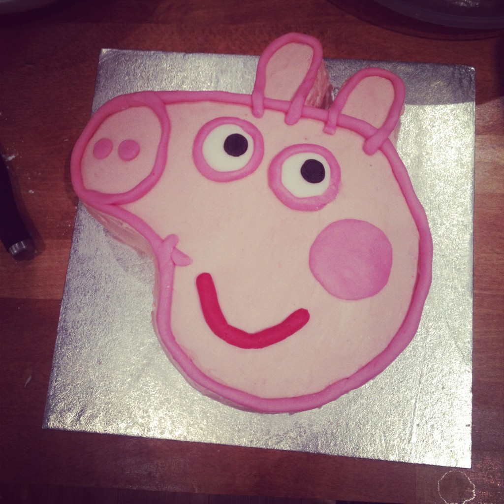 Homemade Peppa Pig Cakes Photo Birthday Cake Jpg 1024x1024 Face
