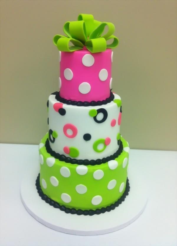 Tremendous 5 Ele Cakes Polka Dots Cake Photo Polka Dot Birthday Cake Polka Funny Birthday Cards Online Necthendildamsfinfo