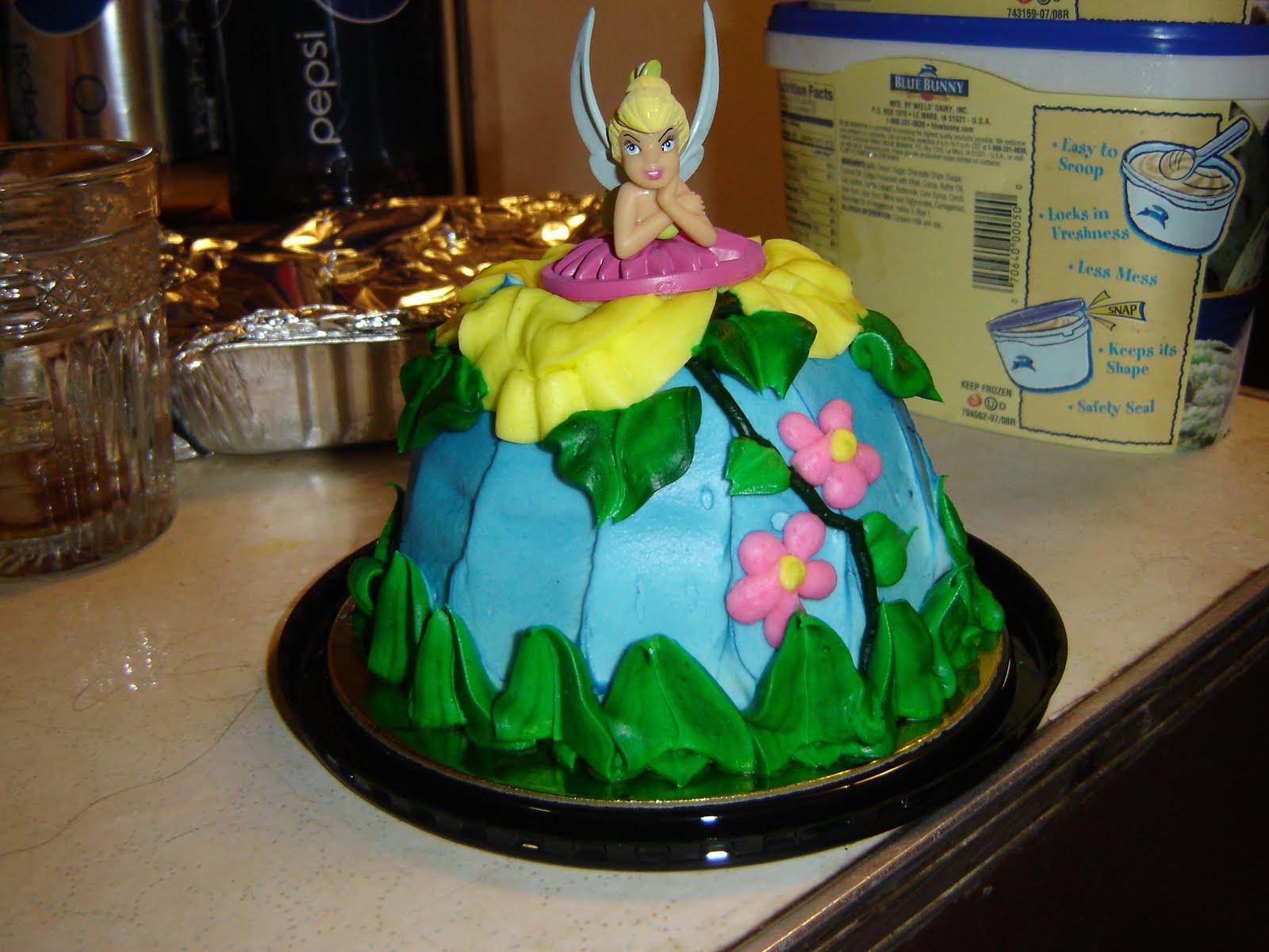 Phenomenal 11 Safeway Cakes Tinkerbell Theme Photo Safeway Bakery Birthday Funny Birthday Cards Online Necthendildamsfinfo