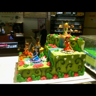 11 Safeway Cakes Tinkerbell Theme Photo Safeway Bakery Birthday