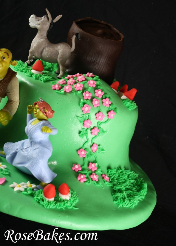 Wondrous 11 Shrek The Third Birthday Cakes Photo Shrek Birthday Cake Funny Birthday Cards Online Elaedamsfinfo