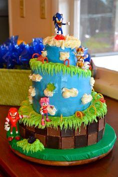 Fantastic 11 Sonic Birthday Cakes Pink Blue Photo Sonic Hedgehog Birthday Funny Birthday Cards Online Alyptdamsfinfo