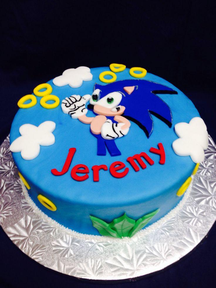 11 Sonic Birthday Cakes Pink Blue Photo Sonic Hedgehog Birthday