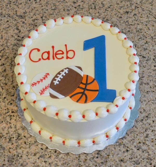 Cool 13 Big Birthday Cakes For Boys Sports Photo Sports Cupcake Birthday Cards Printable Benkemecafe Filternl