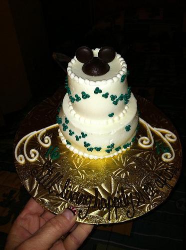 10 Disney Mini Wedding Cakes Photo Disney World Mini Cakes Disney