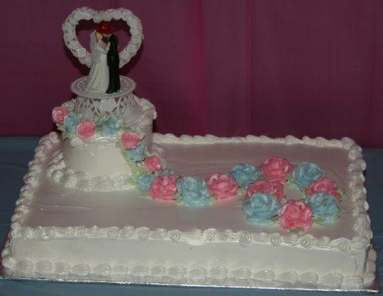 8 1 2 Sheet Weddings Cakes Photo - 1 2 Sheet Cake Ideas, Wedding ...