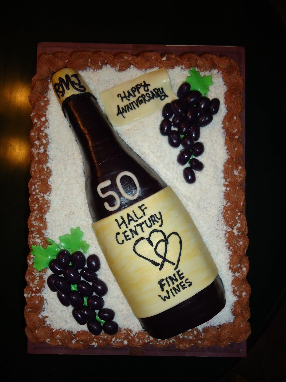 Astounding 7 Birthday Cakes Wine Bottle Glass Photo Wine Bottle Cake Funny Birthday Cards Online Unhofree Goldxyz