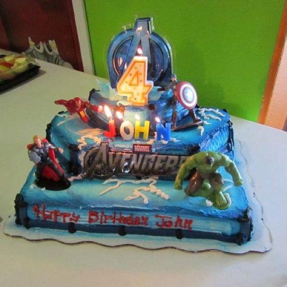 91 Superhero Birthday Cake Walmart