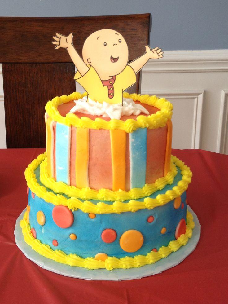 Pleasant 12 Caillou Birthday Cupcakes And Cakes Photo Caillou Birthday Funny Birthday Cards Online Alyptdamsfinfo