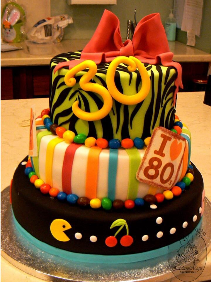 Dirty 30 Birthday Cake Ideas