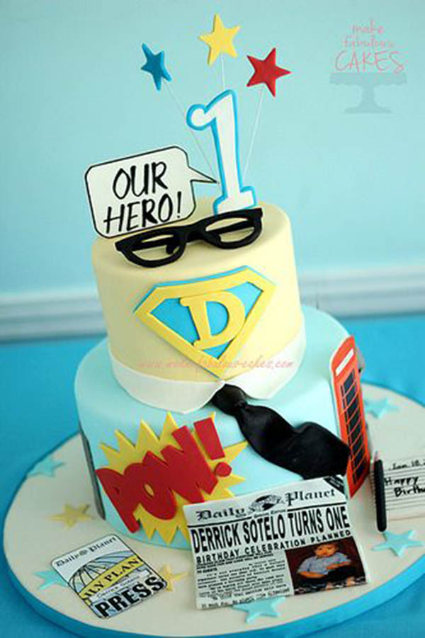 9 Super Hero Fathers Day Cakes Photo Superhero Dad Birthday Cake