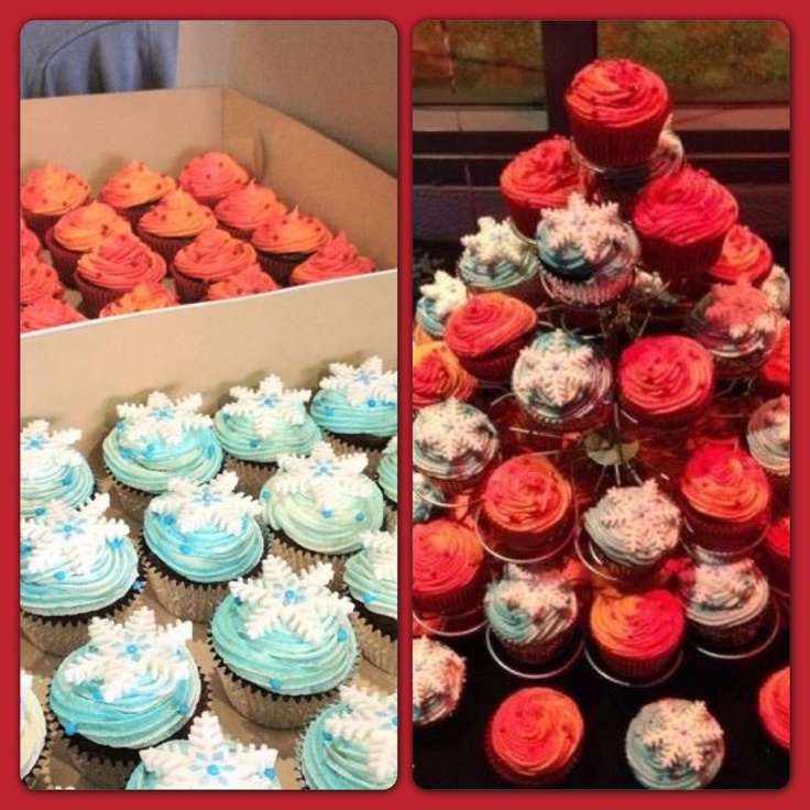 10 Fire And Ice Themed Cupcakes Photo Fire And Ice Theme Ideas