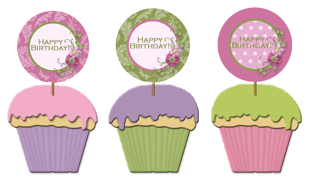 10 printable birthday cupcakes photo free printable happy birthday