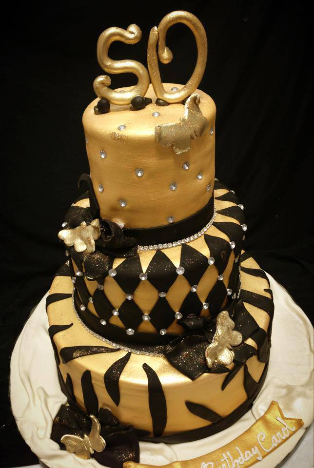 Happy 50 Year Birthday Cake