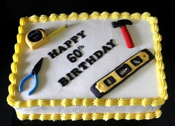 Happy 60th Birthday Sheet Cakes