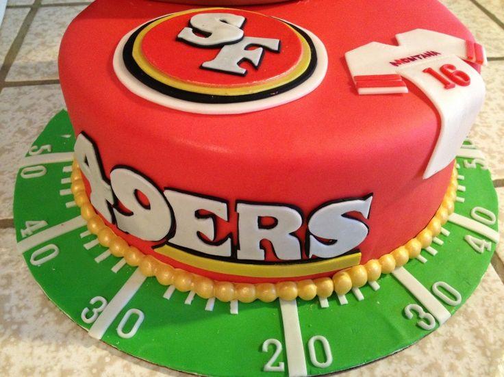 10 49ers Cupcakes Decorating Photo Happy Birthday 49ers Cake