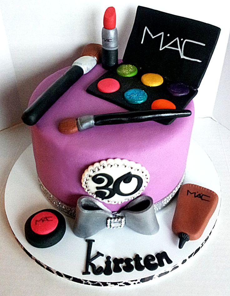 11 Amazing Makeup Cakes 21st Photo