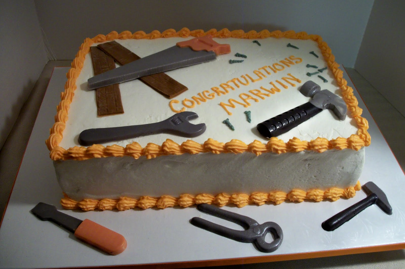 12 Birthday Cakes For Mens Tool Photo 40th Birthday Cakes For Men