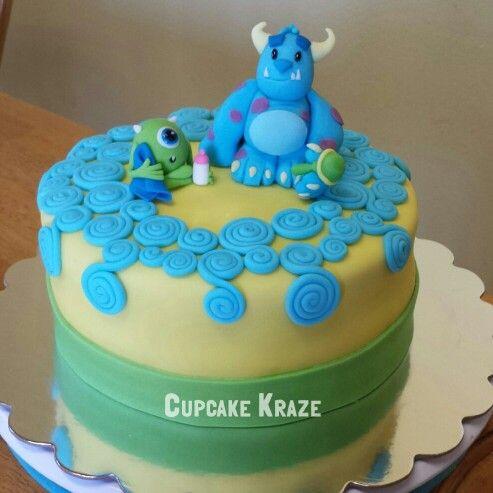 12 Monster Cakes Cute Baby Photo Cute Monster Birthday Cake Baby