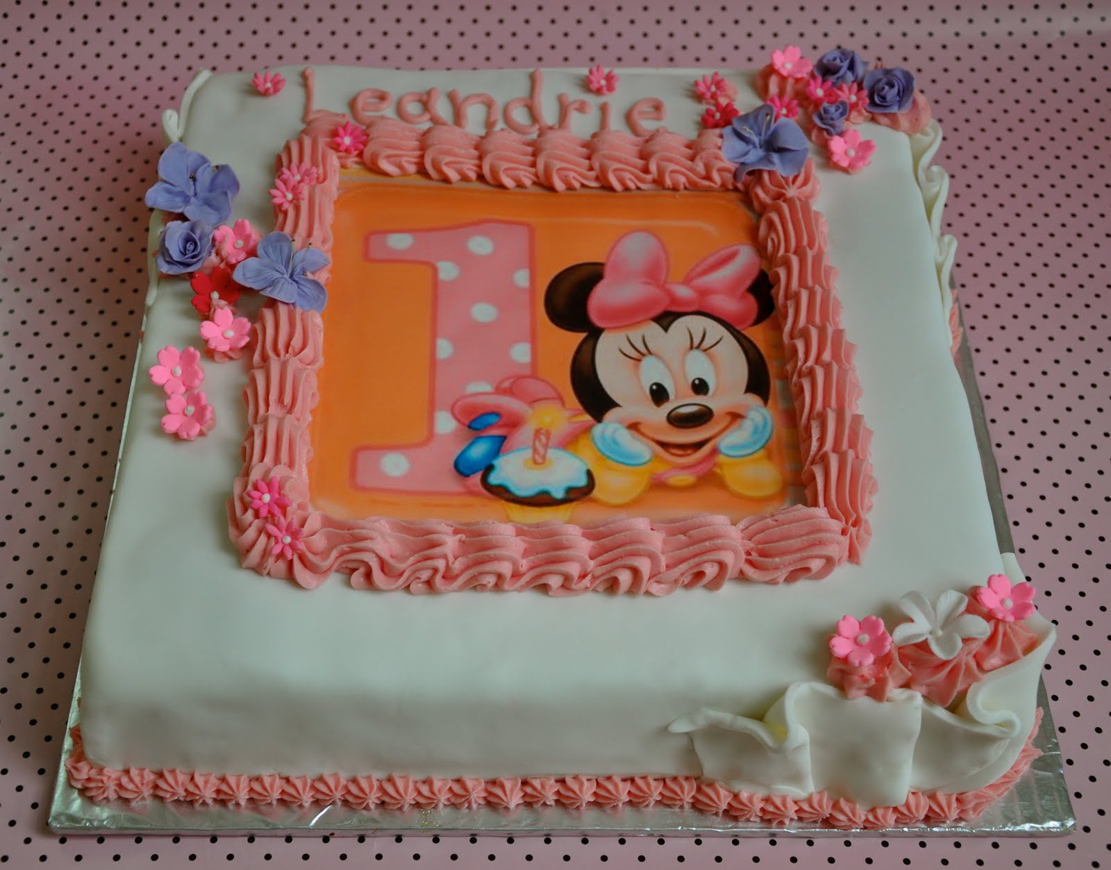 9 1 Year Old Birthday Cakes For Babies Photo 1 Year Old Girl