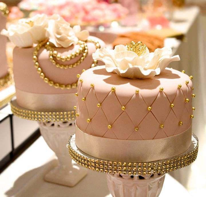 11 Gold Elegant Birthday Cakes Photo Beautiful Elegant Birthday