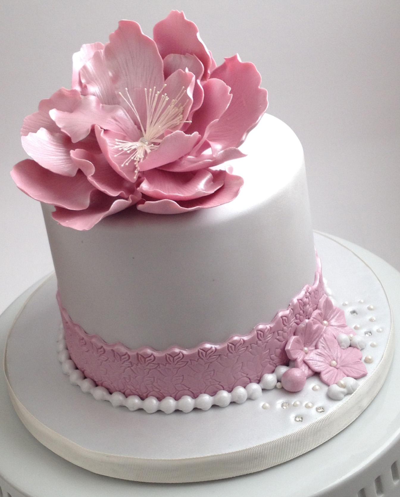 Groovy 9 Pretty Bday Cakes Photo Beautiful Birthday Cake Pretty Funny Birthday Cards Online Amentibdeldamsfinfo