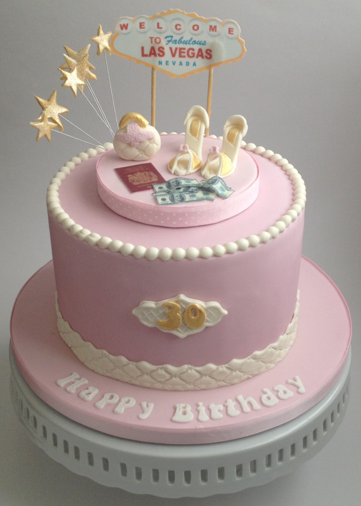 9 Pretty Bday Cakes Photo