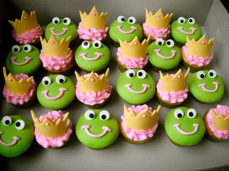 Peachy 8 The Princess And Frog Birthday Cake Cupcakes Photo Princess Funny Birthday Cards Online Inifodamsfinfo