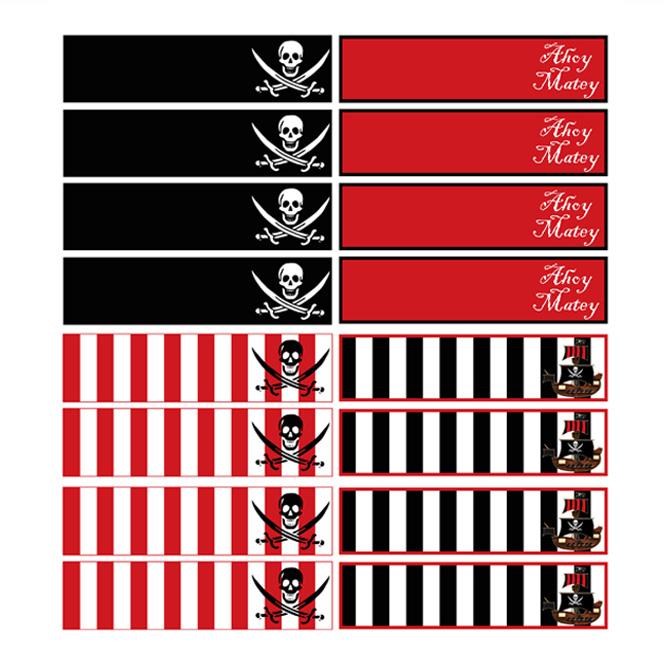 photograph regarding Pirate Flag Printable referred to as Mini Pirate Flag Printable - Relating to Flag Collections