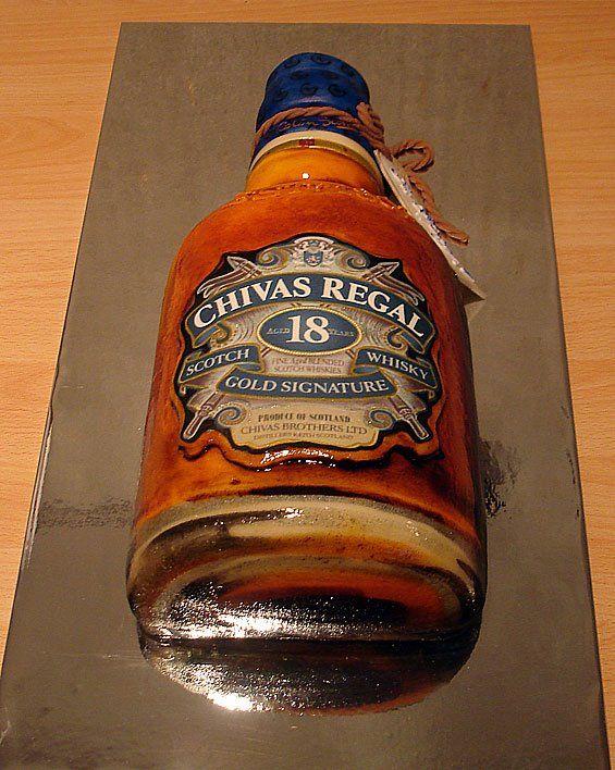 10 Cakes Made With Whiskey Photo Whisky Barrel Birthday Cake