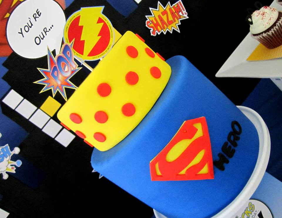 Super Dad Cake Father's Day