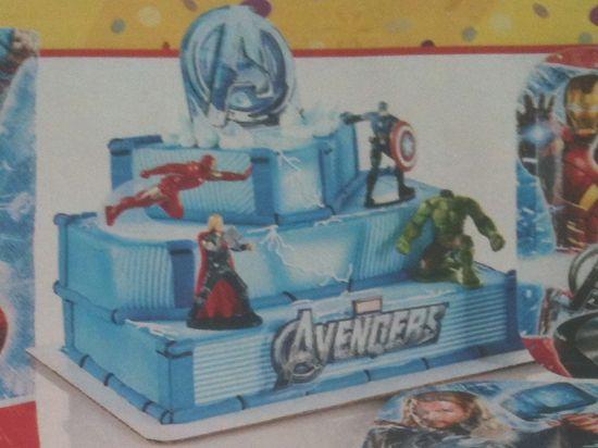 Walmart Bakery Avengers Birthday Cake