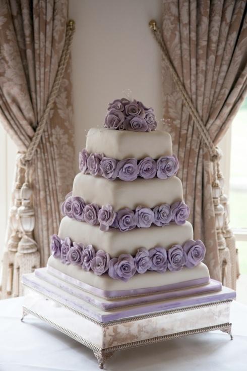 Wedding Flowers Purple Lavender