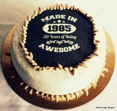 12 Birthday Cakes For Men 30 Yrs Photo
