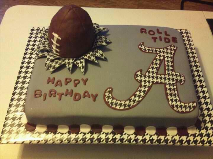 13 Alabama Birthday Cakes Photo Alabama Birthday Cake Alabama