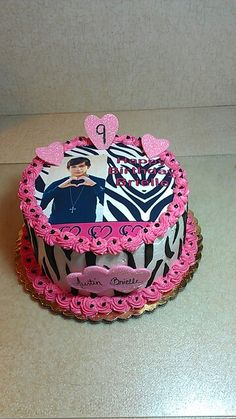 Austin Mahone Birthday Cake