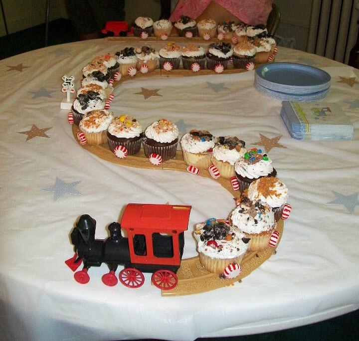 Terrific 11 Looks Like A Train Cakes Photo Baby Boy Polar Express Funny Birthday Cards Online Elaedamsfinfo
