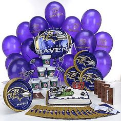 Fantastic 12 Baltimore Ravens Football Happy Birthday Cakes Photo Birthday Cards Printable Opercafe Filternl