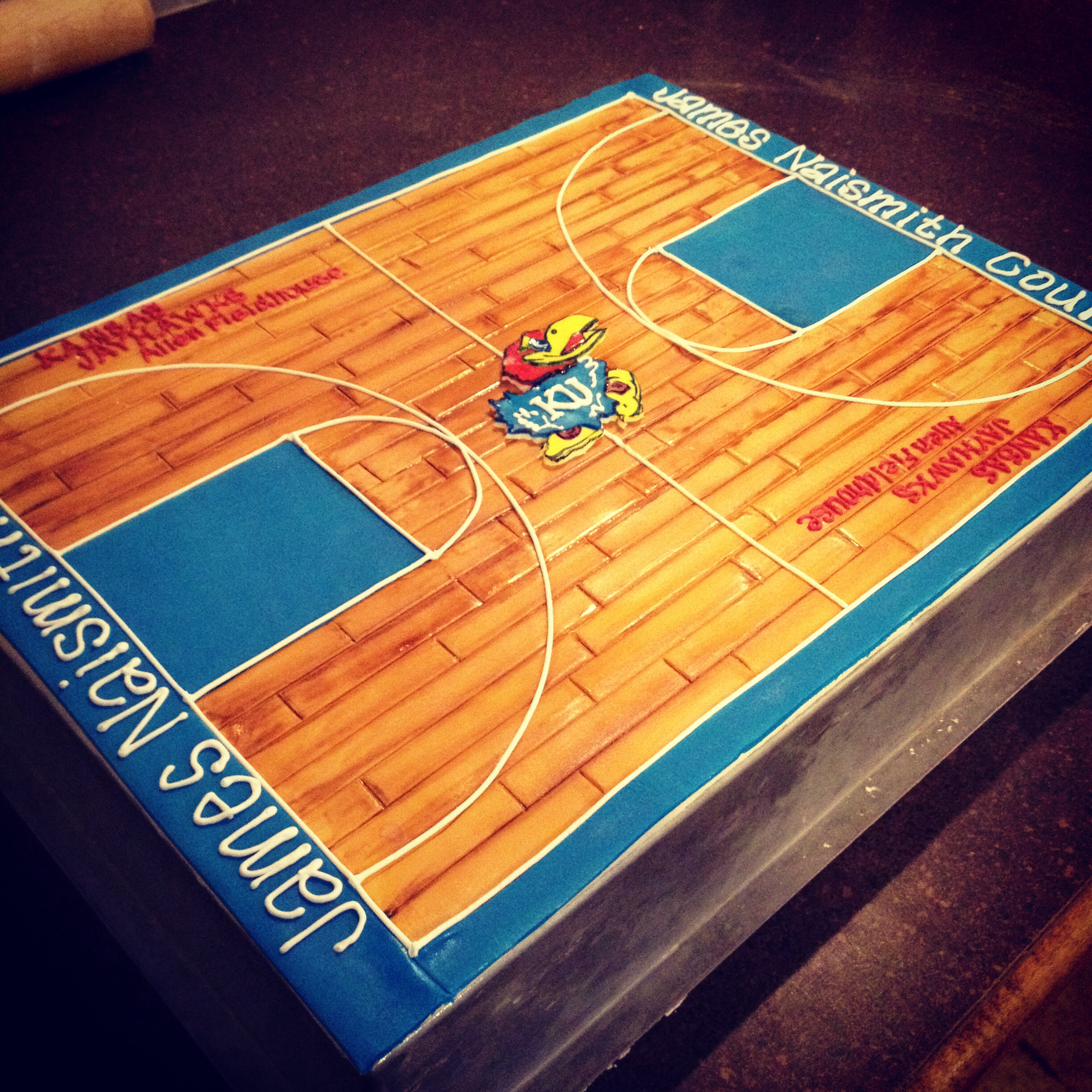 6 Basketball Court Themed Cakes Photo Basketball Birthday Cake