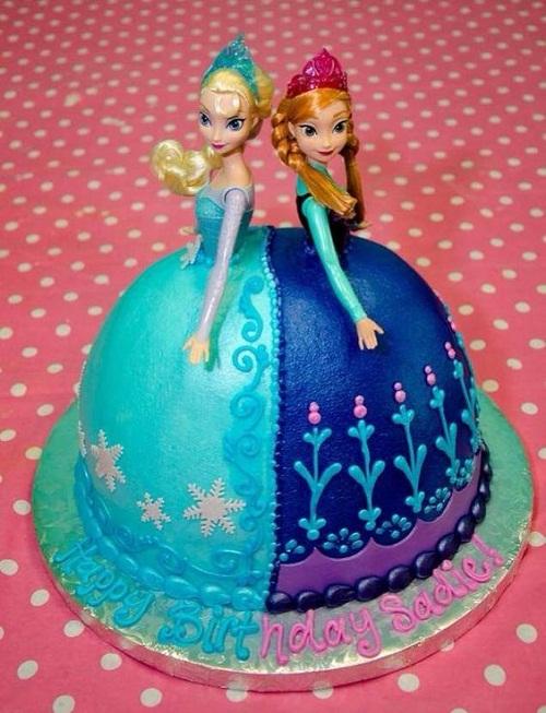 10 Cakes Princess Anna And Elsa Photo Elsa Frozen Disney Princess